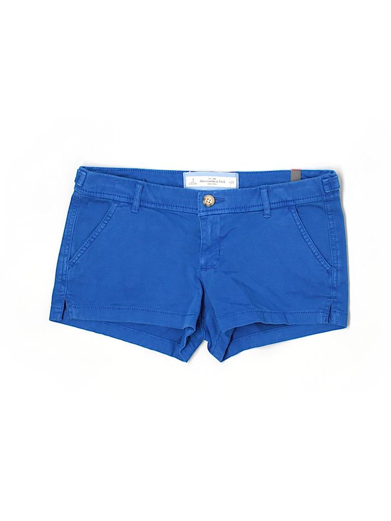 Abercrombie & Fitch Women Khaki Shorts Size 0