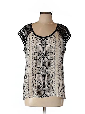 Nanette Lepore Sleeveless Silk Top Size L