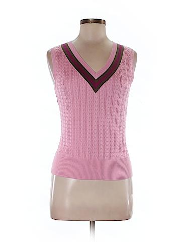Juliana Collezione Silk Pullover Sweater Size M