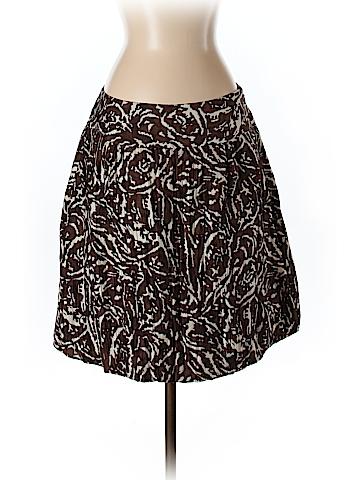 Banana Republic Women Silk Skirt Size 6