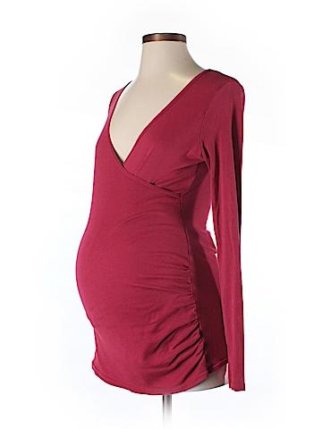 Michael Stars Long Sleeve T-Shirt One Size (Maternity)