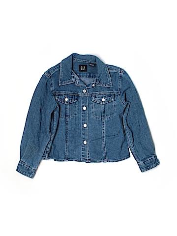 Gap Long Sleeve Button-Down Shirt Size 5-6