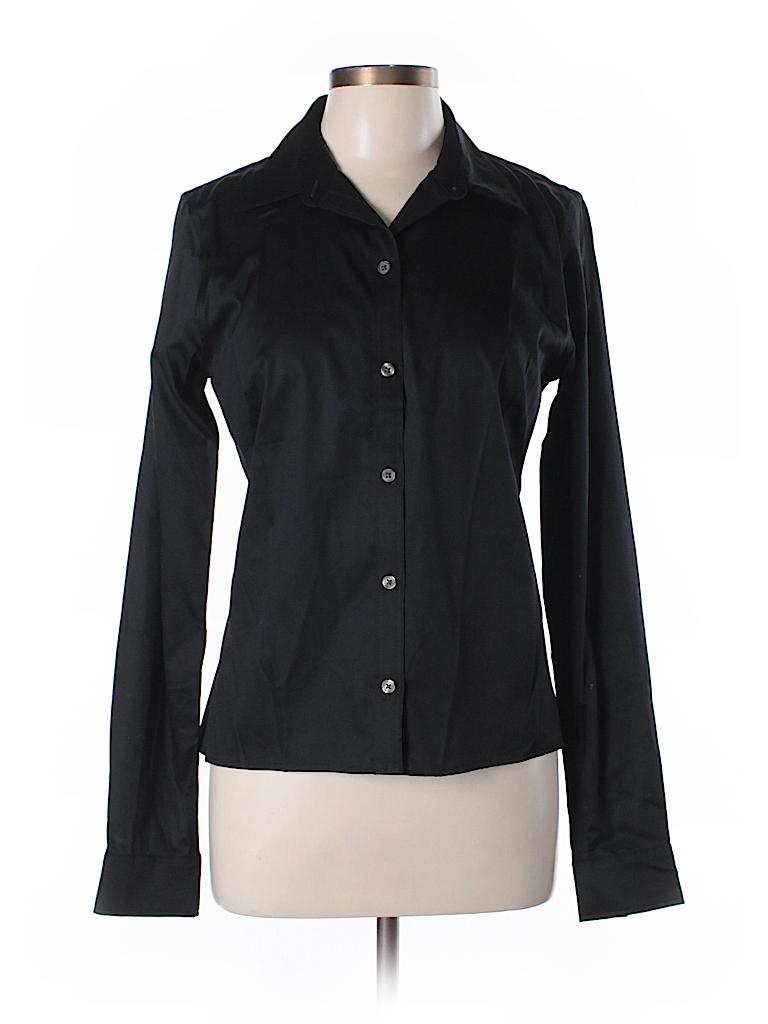 Banana republic long sleeve button down shirt 72 off for Womens tall button down shirts