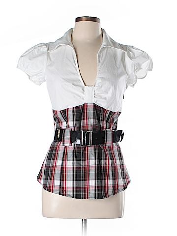 Trixxi Short Sleeve Blouse Size L