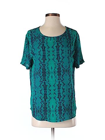 Olivaceous Short Sleeve Blouse Size M