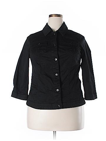 DressBarn Denim Jacket Size 1X (Plus)