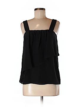 Madison Marcus Sleeveless Silk Top Size M