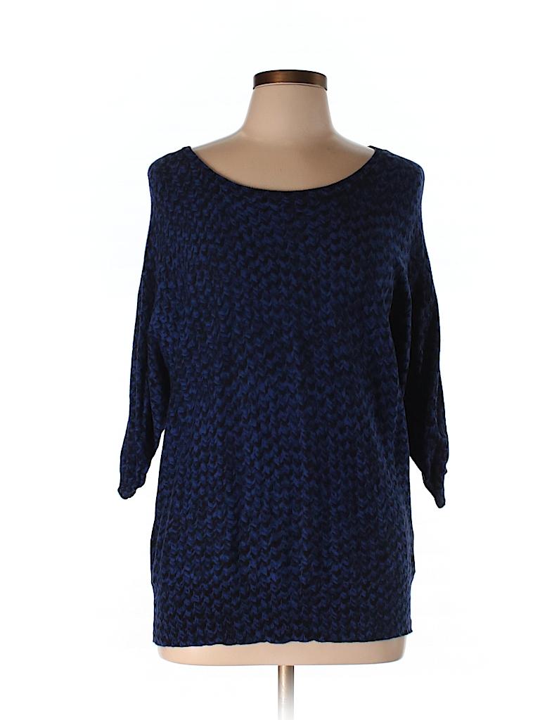 Dana Buchman Women Pullover Sweater Size L