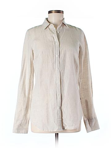 J. Crew Long Sleeve Button-Down Shirt Size 2 (Tall)