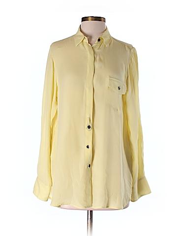 Rag & Bone Long Sleeve Silk Top Size 4