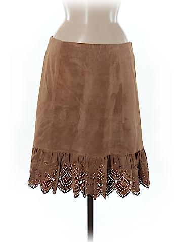 Elevenses Leather Skirt Size 8