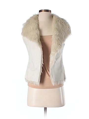 Jennifer Lopez  Faux Fur Vest Size XS