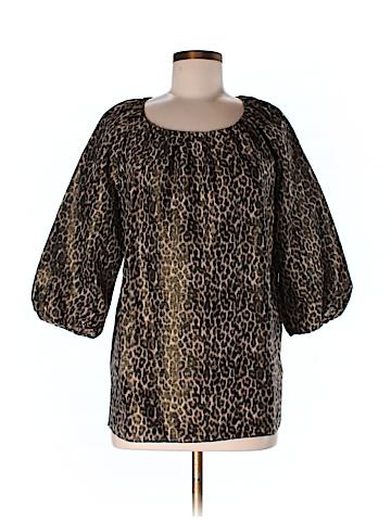 Talbots 3/4 Sleeve Blouse Size M