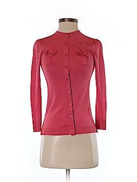 BCBGMAXAZRIA Silk Cardigan Size XS