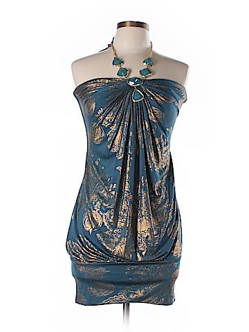 Sky Silk Dress Size L