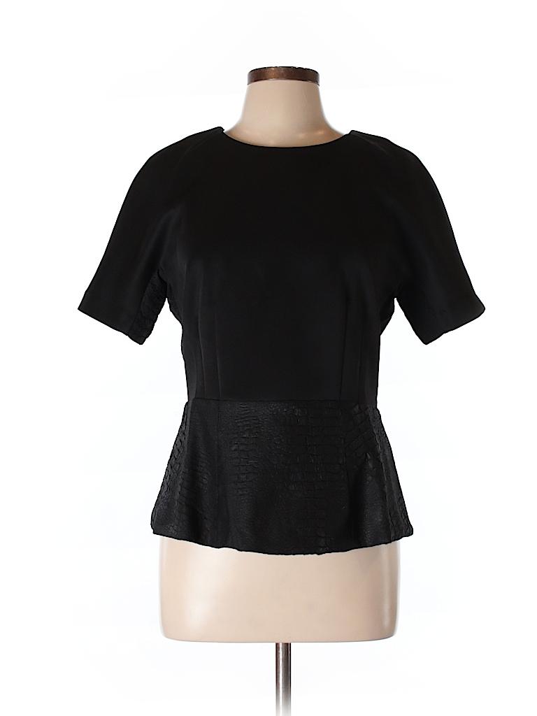 W118 by Walter Baker Women Short Sleeve Blouse Size L