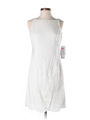 Jones New York Silk Dress Size 6 (Petite)