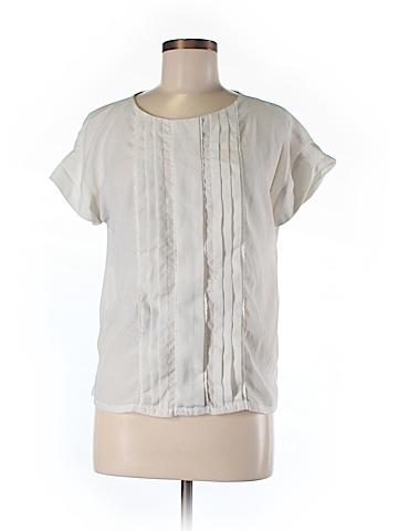 Jason Wu Short Sleeve Blouse Size M
