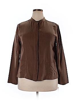 Talbots Long Sleeve Blouse Size 18 (Plus)