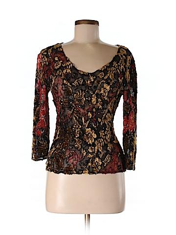 Alberto Makali Women 3/4 Sleeve Blouse Size M