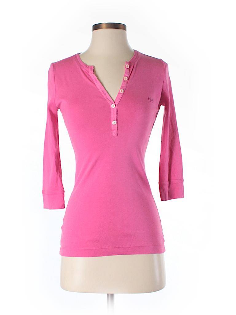lacoste 3 4 sleeve t shirt 80 off only on thredup. Black Bedroom Furniture Sets. Home Design Ideas