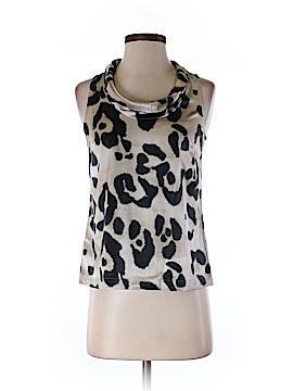 Ann Taylor Sleeveless Silk Top Size 0 (Petite)