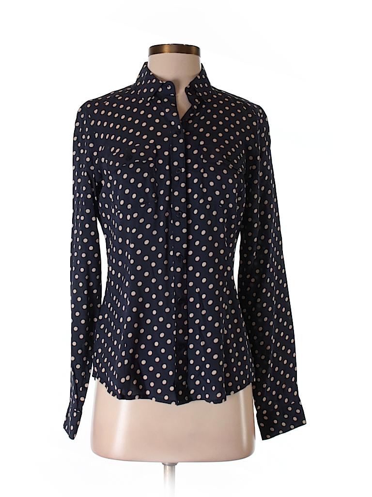 Ann Taylor LOFT Women Long Sleeve Blouse Size XS