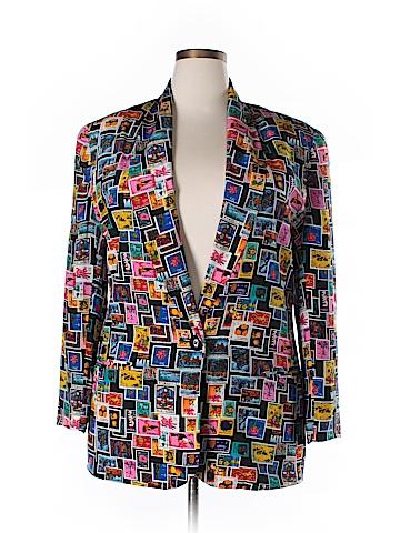 Nordstrom Silk Blazer Size XL