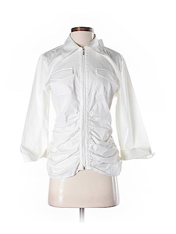 CAbi 3/4 Sleeve Blouse Size 8