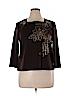 Alfred Dunner Women 3/4 Sleeve Top Size XL (Petite)