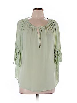 Suzy Shier 3/4 Sleeve Blouse Size L