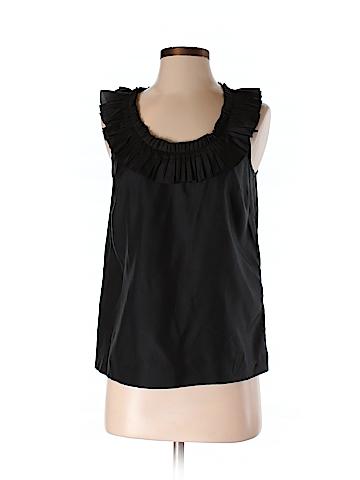 J. Crew Women Sleeveless Silk Top Size 2