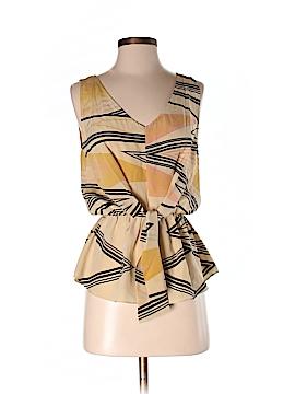 MYNE Sleeveless Silk Top Size 2