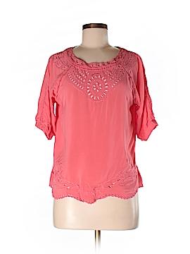 Love Stitch Short Sleeve Blouse Size M
