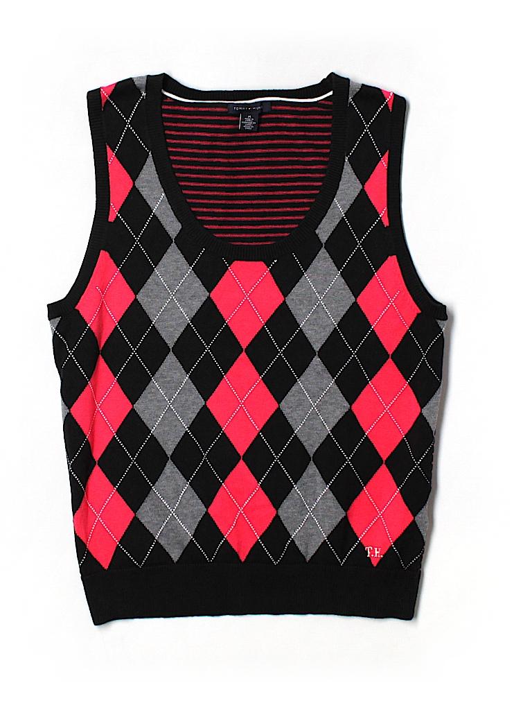 3dd61a3af19e1 Tommy Hilfiger 100% Cotton Argyle Sweater Vest Size M - 83% off ...