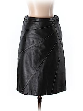 BCBGMAXAZRIA Leather Skirt Size 0