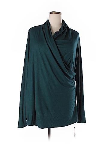 Marina Rinaldi Long Sleeve Top Size XL