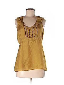 BB Dakota Sleeveless Silk Top Size L
