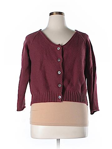 Sahalie Cardigan Size 1X (Plus)