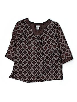 Jaclyn Smith 3/4 Sleeve Blouse Size M