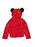 Disney Girls Zip Up Hoodie Size 6