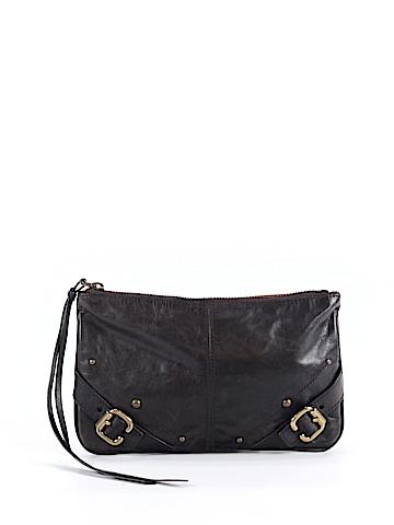 Club Monaco Leather Clutch One Size