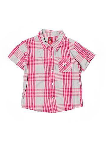Paul Smith Short Sleeve Button-Down Shirt Size 6-7