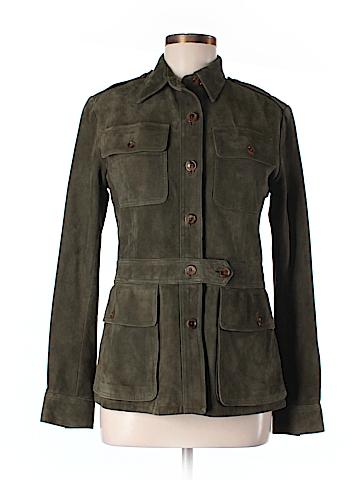 Ralph Lauren Leather Jacket Size 6