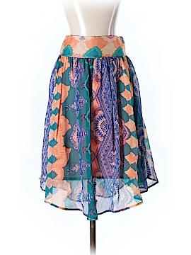 HD in Paris Silk Skirt Size XS