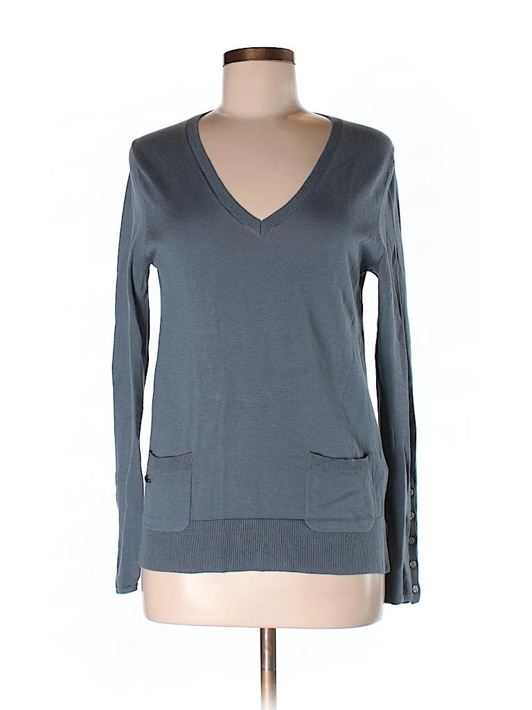 lacoste 100 cotton solid dark blue pullover sweater size 36 eu 86 off thredup. Black Bedroom Furniture Sets. Home Design Ideas
