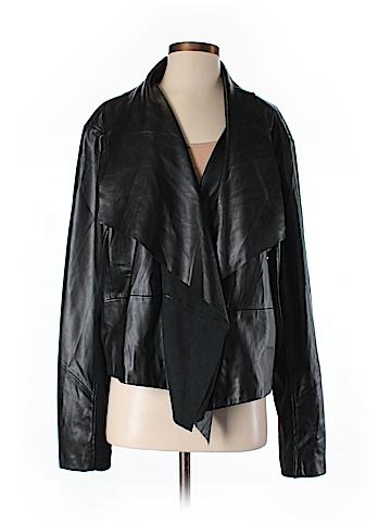 Z.Cavaricci Faux Leather Jacket Size 3
