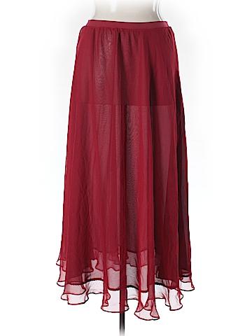 Moulinette Soeurs Silk Skirt Size XL