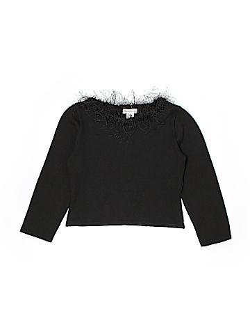 Maria Casero Long Sleeve Top Size 16