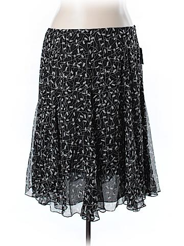 Anne Klein Silk Skirt Size 22 (Plus)